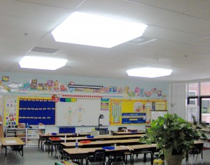 Brodewich Bray Elementary's New Daylighting Fixtures